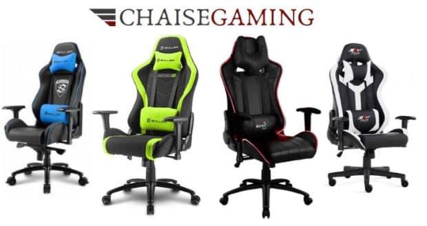 acquérir une chaise de jeu avec la livraison gratuite