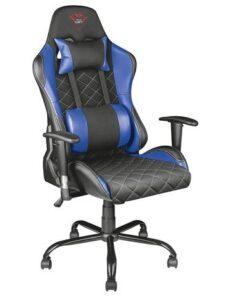Trust Gaming GXT 707 Resto Chair Bleu et Noir - Acheter au meilleur prix