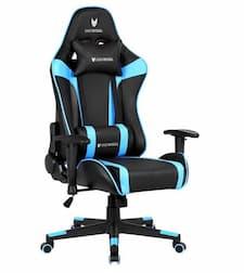 Chaise de jeu Oversteel Ultimet bleu et noir
