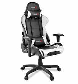 Arozzi Verona V2 Gaming Chair noir et blanc